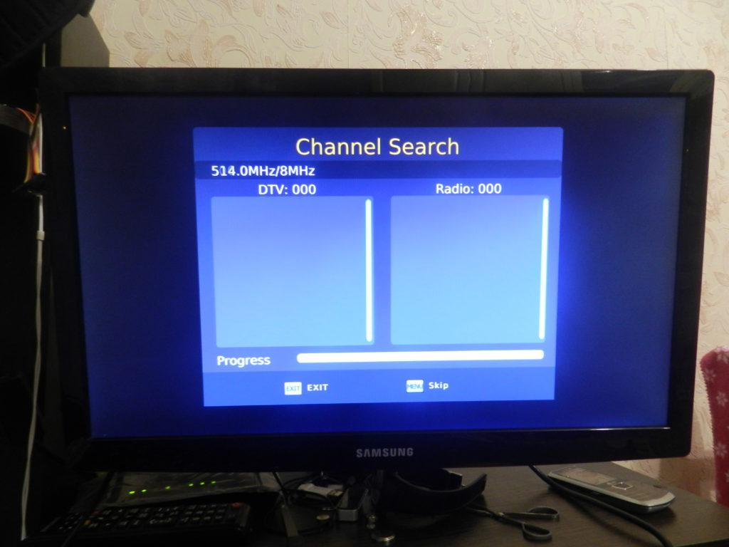 Поиск каналов