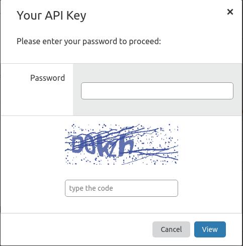 Получение API token
