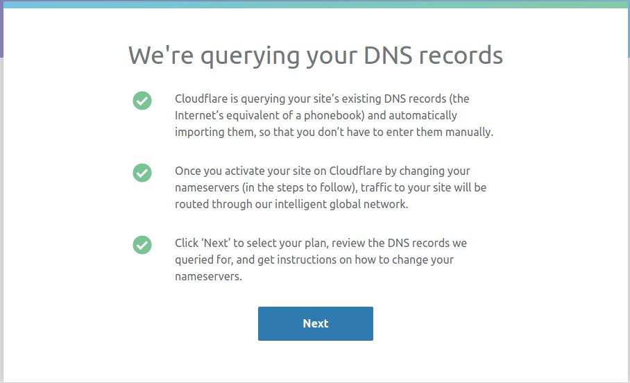 Запрос настроек DNS с текущего сервера